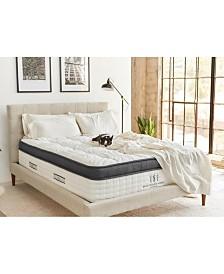 """Brentwood Home Oceano 14"""" Gel Memory Foam Medium Eurotop Hybrid Mattress - Queen Size"""