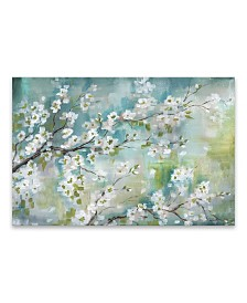 "Cherry Blossom Printed Canvas Art - 35"" W x 23"" H x 1.25"" D"