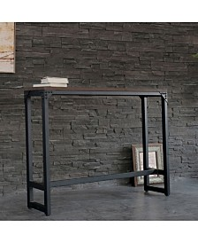 AC Pacific Minimalist Contemporary Industrial Bar and Cocktail Logan Table