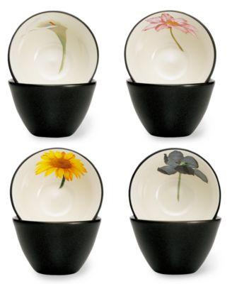 Colorwave Floral Set of 4 Mini Bowls