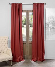 "Exclusive Fabrics & Furnishings Blackout 50"" x 84"" Curtain Panel"