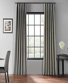 "Blackout Vintage Textured 50"" x 84"" Curtain Panel"