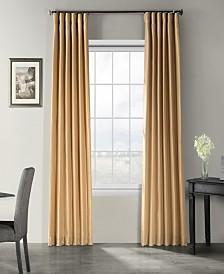 "Exclusive Fabrics & Furnishings Vintage Textured 50"" x 96"" Curtain Panel"