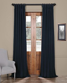 """Exclusive Fabrics & Furnishings Solid Cotton Blackout 50"""" x 108"""" Curtain Panel"""