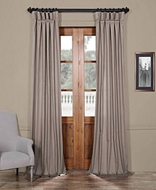 "Solid Cotton 50"" x 120"" Curtain Panel"