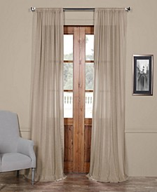 "Sheer 50"" x 120"" Curtain Panel"