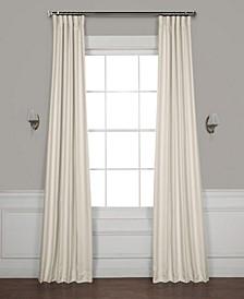 Faux Linen Blackout Curtain Panel Collection