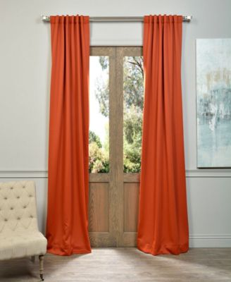 "Exclusive Fabrics & Furnishings Blackout 50"" x 120"" Curtain Panel"