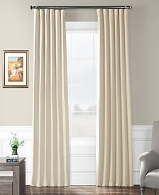 "Exclusive Fabrics & Furnishings Bellino Blackout 50"" x 120"" Curtain Panel"