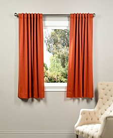 "Exclusive Fabrics & Furnishings Blackout 50"" x 63"" Curtain Panel"