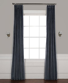 "Exclusive Fabrics & Furnishings Signature Blackout Velvet 50"" x 84"" Curtain Panel"