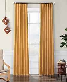 """Faux Linen 50"""" x 108"""" Blackout Curtain Panel"""