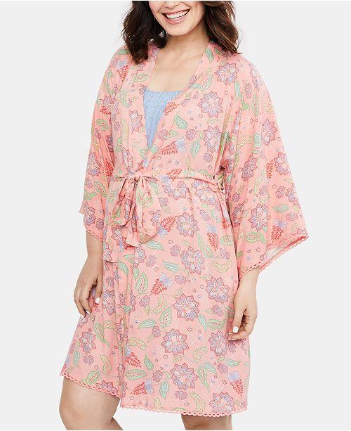 Motherhood Maternity Belted Robe