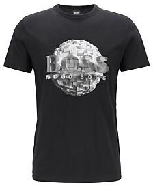 BOSS Men's Tee 4 Regular-Fit Cotton T-Shirt