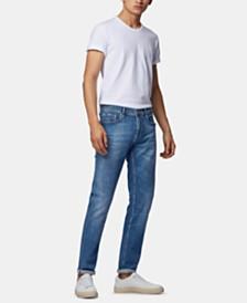 BOSS Men's Charleston3 Extra-Slim-Fit Italian Comfort-Stretch Denim Jeans