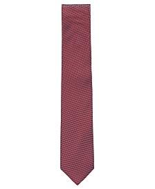 "BOSS Men's Tie 3"" Italian-Made Micro-Patterned Jacquard Tie"