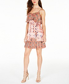 Avah Printed Popover Dress