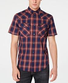 Calvin Klein Jeans Men's Foundation Plaid Twill Shirt