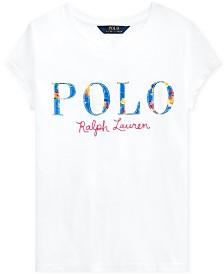 Polo Ralph Lauren Big Girls Logo T-Shirt