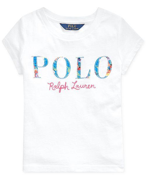 Polo Ralph Lauren Little Girls Logo T-Shirt