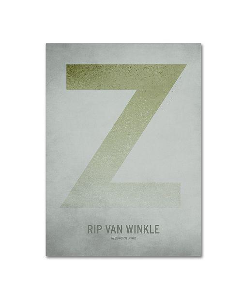 "Trademark Global Christian Jackson 'Rip Van Winkle' Canvas Art - 35"" x 47"""