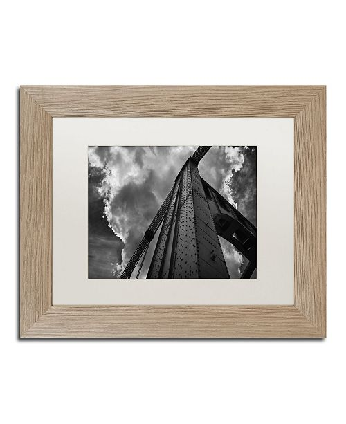 "Trademark Global Jason Shaffer 'Andy Warhol Bridge' Matted Framed Art - 14"" x 11"""