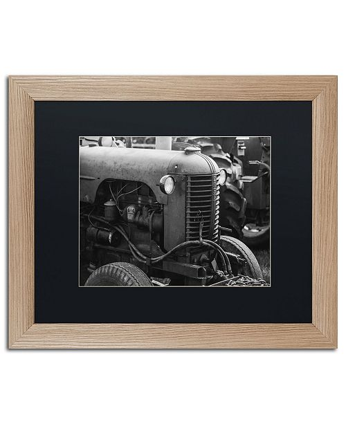 "Trademark Global Jason Shaffer 'Case 2' Matted Framed Art - 20"" x 16"""