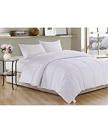 Polyester Medium Warmth Down Alternative Twin Comforter with Duvet Insert