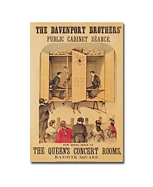 "The Davenport Brothers 1865' Canvas Art - 24"" x 16"""