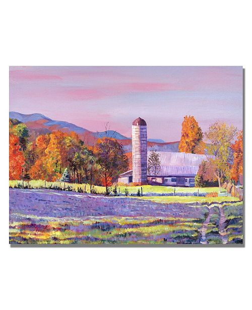 "Trademark Global David Lloyd Glover 'Heartland Morning' Canvas Art - 32"" x 22"""