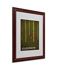 "Christian Jackson 'Red Riding Hood' Matted Framed Art - 20"" x 16"""