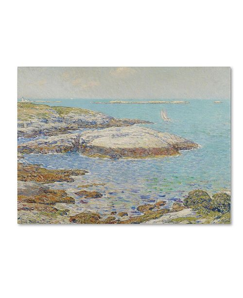 "Trademark Global Childe Hassam 'Isles of Shoals 1899' Canvas Art - 19"" x 14"""