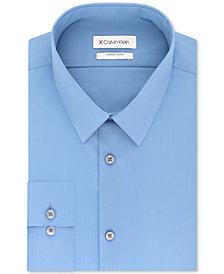 Calvin Klein Men's Extra-Slim Fit 360º Contour Stretch Wrinkle-Free Solid Dress Shirt