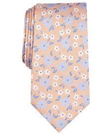 Nautica Men's Rixon Slim Floral Silk Tie