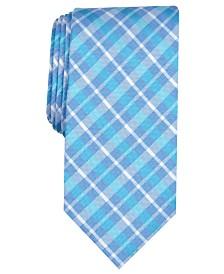 Nautica Men's Aubey Slim Plaid Tie