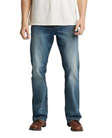 4d821aaa04f Silver Jeans Co. Men's Craig Easy Fit Bootcut Stretch Jeans ...