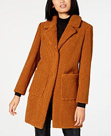 French Connection Faux-Fur Teddy Coat