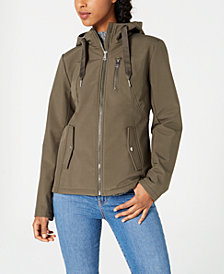 Sebby Juniors' Water Resistant Hooded Jacket