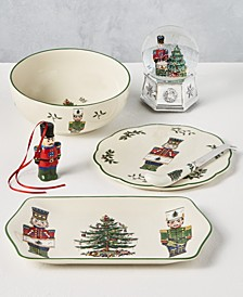 Christmas Tree Nutcracker Dinnerware Collection