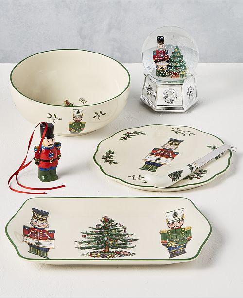 Spode Christmas Tree Nutcracker Dinnerware Collection