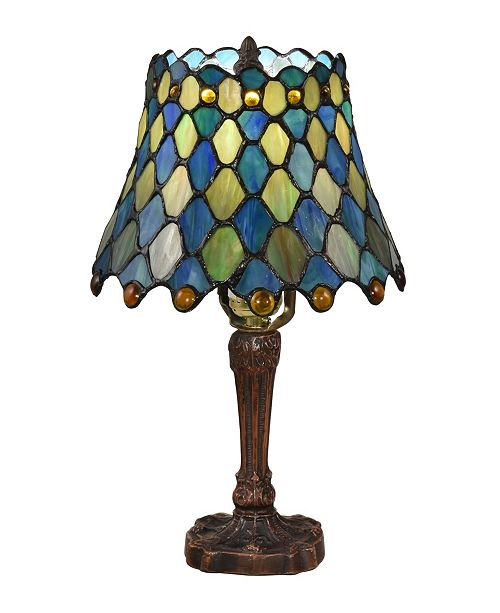 Dale Tiffany Maile Brass Tiffany Table Lamp