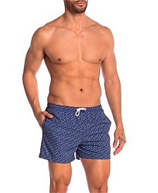 Bermies Classic Cali Palm Swim-Trunk