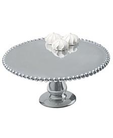"KINDWER 12"" Beaded Aluminum Cake Pillar"