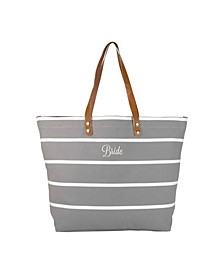 Bride Striped Tote