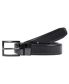Reversible Feather-Edge Men's Belt