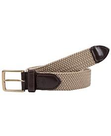 Braided Canvas Web Men's Belt