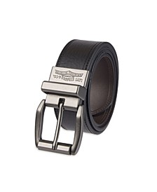 Leather Reversible Casual Men's Belt