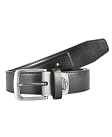 Industrial Strength Metal Logo Tab Men's Belt