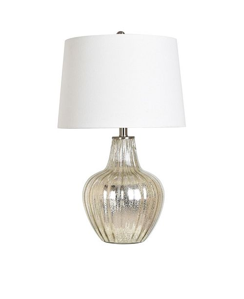 "Crestview Collection 25"" Glass Table Lamp"