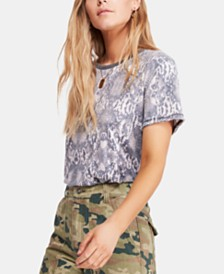Free People Tourist Printed T-Shirt